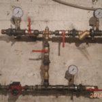 Смесительный узел вентиляционной системы без подключения