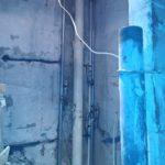 Переварка стояков горячего и холодного водоснабжения