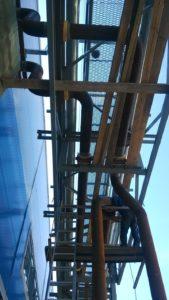 Монтаж сложных металлоконструкций