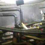 Сварка труб канализации