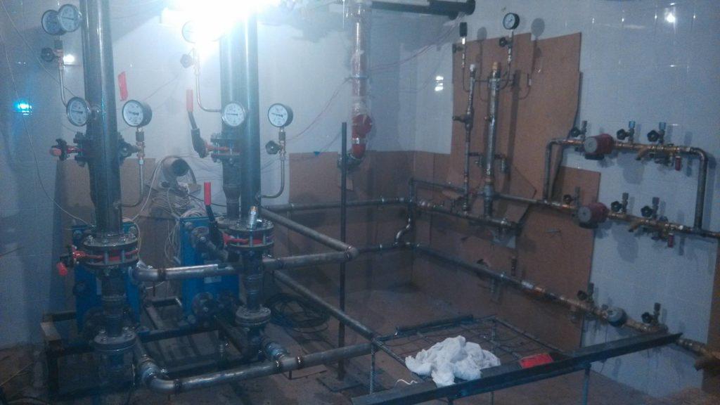 Сварка труб и монтаж водомерных узлов